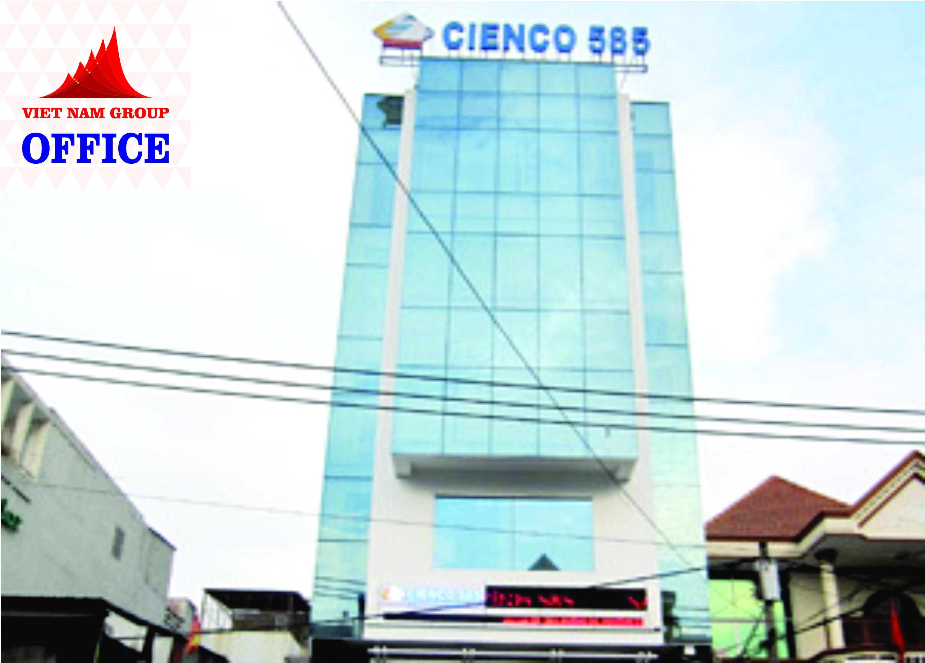 CIENCO 585 BUILDING – VĂN PHÒNG CHO THUÊ BÌNH THẠNH